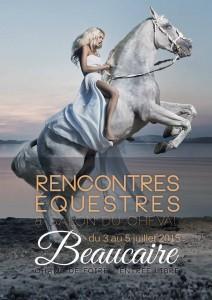 Rencontres equestres cheval de pure race espagnole Beaucaire